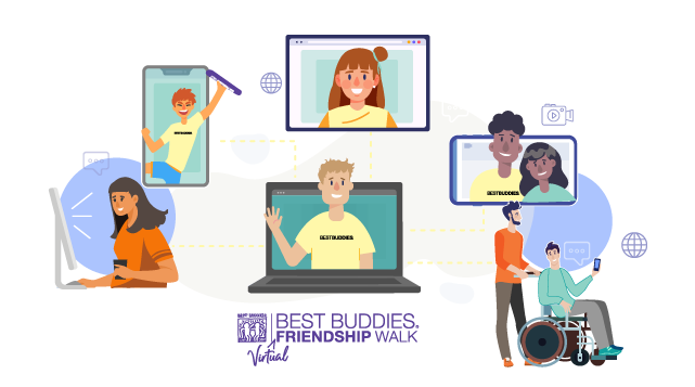 Best Buddies Virtual Walk Image
